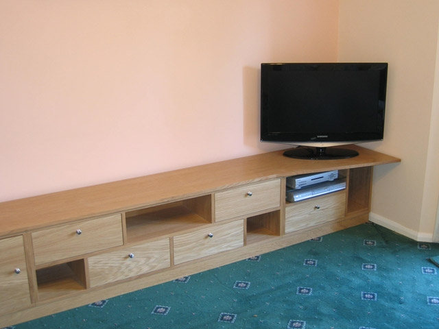 Bourne 39 s fine furniture tv bench and dvd storage units for Tv and media storage units